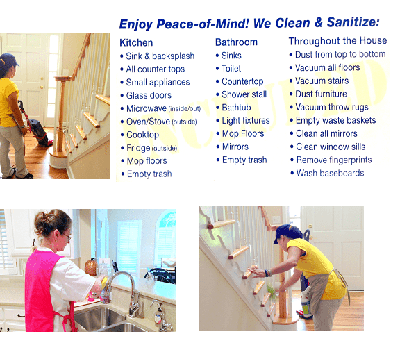 Residential Cleaning Services - Maid Service in Cherokee county ...