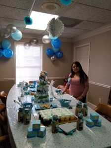 Angelica baby shower